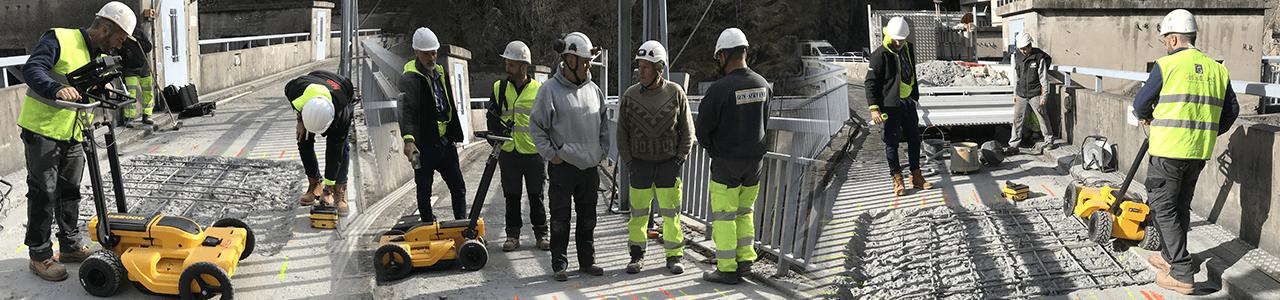 Barrage EDF de la Barthe à BROMMAT (AVEYRON) 1