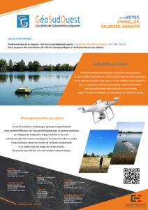 Topographie par drone aérien 3
